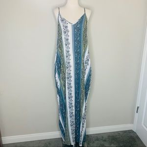 Anthropologie Entro maxi dress